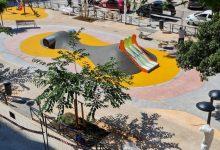 Finalitzen les obres de remodelació integral del parc del carrer Manuel Simó, al barri de Patraix