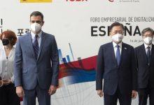"""Sánchez celebra que """"pronto vamos a abandonar las mascarillas en la calle"""""""