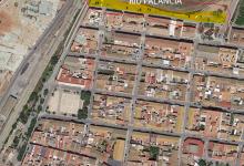 Puçol treballa un nou paviment als carrers del Barrio i una millor accessibilitat a la plaça del País Valencià
