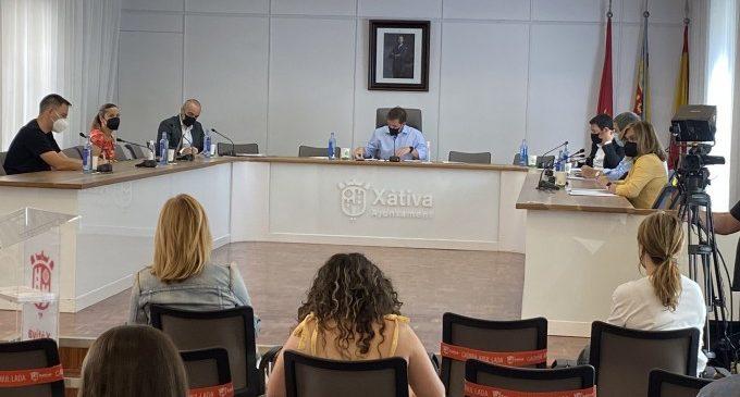 El finançament de les obres del pàrquing de l'hospital Lluís Alcanyís de Xàtiva ix avant malgrat l'abstenció de XU i PP