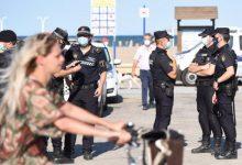 Un ampli dispositiu de seguretat impedeix la celebració de festes i aglomeracions a les platges de la Comunitat