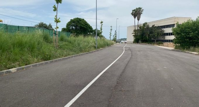 Ontinyent trau a licitació les obres que completaran el carril bici entre el nucli urbà i el polígon de Sant Vicent
