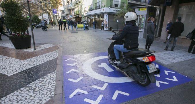 Gandia relaja temporalmente la restricción de circulación de la Morada en el Centro Histórico por las obras del puente de Alicante