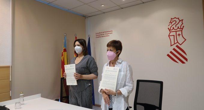 La Generalitat i la Universitat de València renoven la Càtedra PAGODA de Govern Obert, Participació i Dades obertes