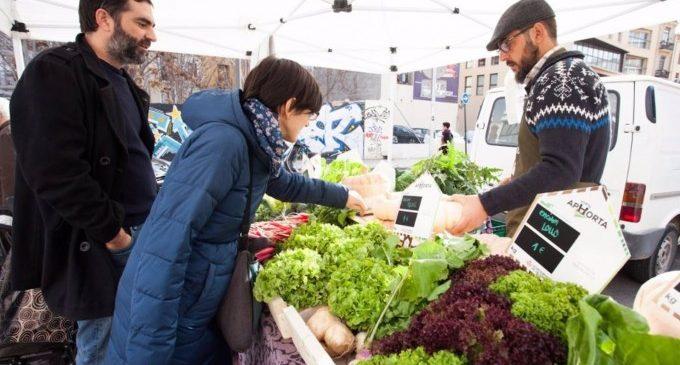 """Els agricultors organitzen un mercat extraordinari per a denunciar els """"preus ruïnosos"""" de la creïlla i la ceba"""