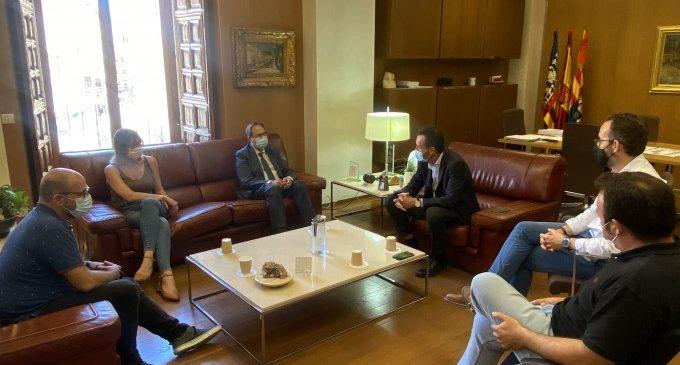 Soler anuncia que la Comunitat Valenciana ha aconseguit certificar ja el 95% de FEDER