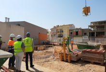 Les obres d'ampliació de la Residència de Majors d'Almussafes avancen a bon ritme