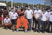 Las playas de València cuentan con un dispositivo de rescate por control remoto pionero en España