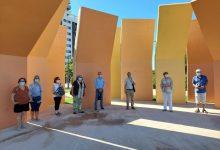 El barri de Malilla estrena la nova pèrgola per a activitats musicals i culturals