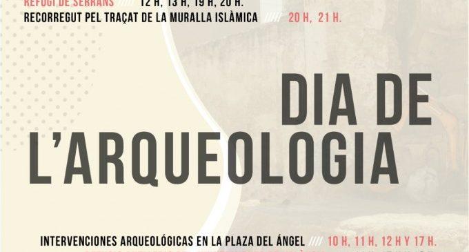 València celebra el Dia de l'Arqueologia amb visites guiades gratuïtes