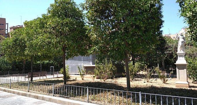 El jardín entre las calles Xiva y Tres Forques pasará a llamarse de Pontons en memoria de la alquería y el huerto que había en el siglo XVIII