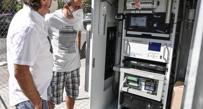 L'Ajuntament de València instal·la les dos noves estacions per mesurar contaminació atmosfèrica i acústica en l'Olivereta i Patraix