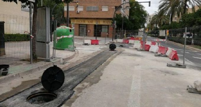 El Cicle Integral de l'Aigua finalitza a l'agost les obres de sanejament en les grans avingudes