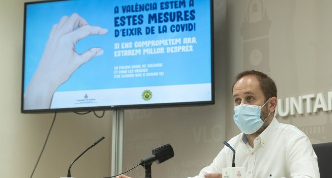 La Policia Local de València presenta una campanya publicitària en la qual demana un últim esforç a la ciutadania per a acabar amb la pandèmia