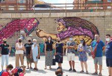 Russafa luce cuatro nuevos murales para visibilizar los Objetivos de Desarrollo Sostenible