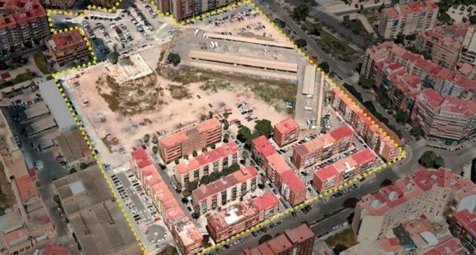 Viviendas, jardines y centros escolares para resolver el vacío urbano junto a la antigua Fe de València