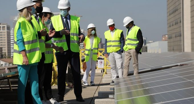 Ximo Puig aposta per l'energia verda i fa una crida a la responsabilitat individual en la lluita contra el canvi climàtic