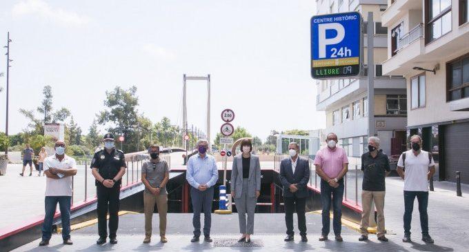 Gandia reintegra definitivament el riu en la ciutat amb la remodelació del pàrquing del Centre Històric
