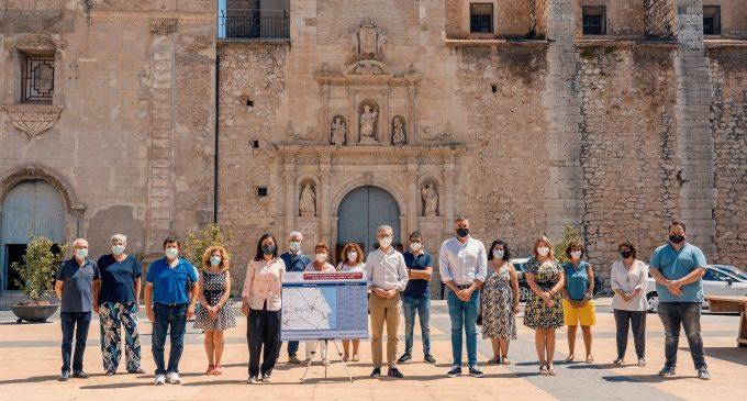 La Conselleria de Mobilitat posa en marxa un nou servei d'autobusos a la Ribera per a facilitar la connectivitat entre municipis