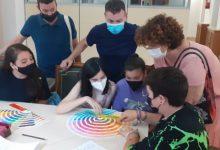 El Consell de la Infància de Catarroja elabora su propio logo en un taller impartido por profesionales del diseño