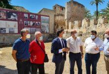 Colomer visita a Alzira els dos projectes inclosos en el Pla Nacional Xacobeo 2021-2022 del Ministeri