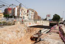 Les obres de soterrament obliguen a tallar temporalment la circulació entre les estacions d'Empalme i Burjassot de la Línia 1 de Metrovalencia