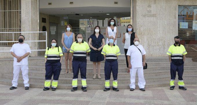 Paiporta incorpora sis persones per a tasques de neteja i manteniment