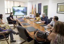 El jurat de Viles en Flor visita Paiporta