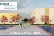 Llíria rep el projecte del nou IES Camp de Túria