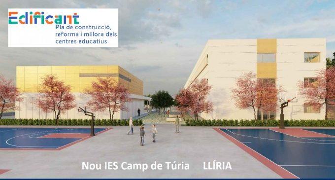 Llíria recibe el proyecto del nuevo IES Camp de Túria