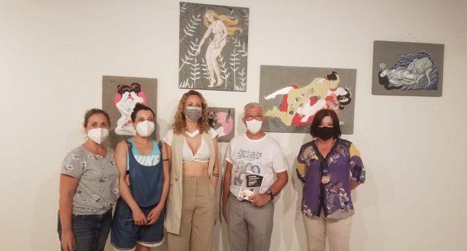 Mai Hidalgo exposa «Mix de cultures» a la Casa de la Cultura d'Alzira