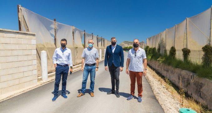 L'Ajuntament de Cullera i la Generalitat aposten per mantenir els nivells d'inversió en camins rurals
