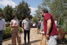 Paterna inicia en La Vallesa les proves de les 20 torres de canons d'aigua del Projecte GUARDIAN