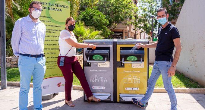 Mislata es converteix en la primera localitat de la Comunitat Valenciana a instal·lar papereres intel·ligents als seus carrers