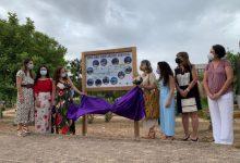 Pilar Mateo inaugura les 11 zones enjardinades del Parc Tecnològic de Paterna batejades amb noms de científiques