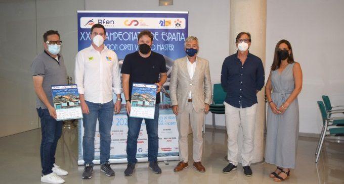 Sedaví presenta el XXXI Campionat d'Espanya de Natació Open Verano Master