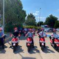 La movilidad eléctrica sostenible llega a las áreas empresariales de Paterna con la puesta en marcha del servicio de motosharing