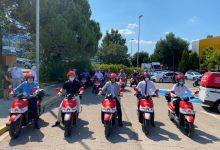 La mobilitat elèctrica sostenible arriba a les àrees empresarials de Paterna amb la posada en marxa del servei de motosharing