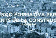 El Pla Xàtiva realitza aquest dimecres la sessió formativa  destinada a agents de la construcció i la rehabilitació