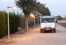 Catarroja ha incrementat els tractaments contra plagues respecte al passat estiu