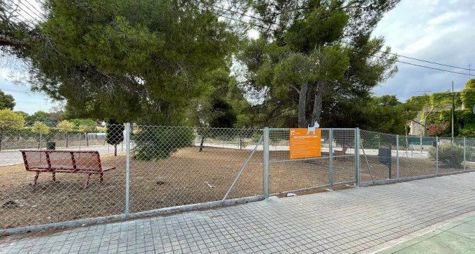 Paterna construeix una nova zona d'esplai caní a La Canyada i suma més de 25 en tot el municipi