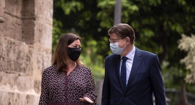 """La cimera valencianobalear buscarà """"estrényer vincles"""" i defensarà que la perifèria """"siga centre"""" per al finançament"""
