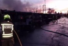 EMT rep 2,1 milions d'euros com a indemnització per l'incendi de desembre en les cotxeres