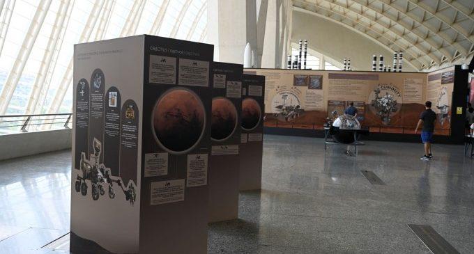 El Museu dels Ciències amplia els continguts de l'exposició 'Mart. La conquesta d'un espai'