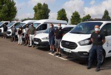 Almussafes renova la flota municipal amb set vehicles per a obres, urbanisme i el servei elèctric