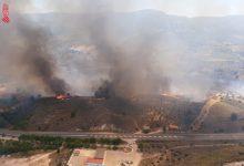 Estabilizado el incendio forestal en Jalance que ha movilizado a ocho medios aéreos de extinción