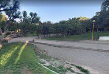 Una mujer resulta herida tras caer un farola y golpearle la cabeza en el parque de Benicalap