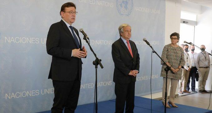 Puig demana a l'ONU continuar millorant les oportunitats de les persones joves i combatre la violència de gènere