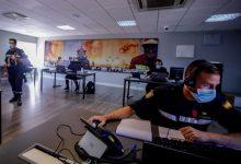 Sanitat incorpora 50 nous rastrejadors militars en la base militar de Marines contra la COVID