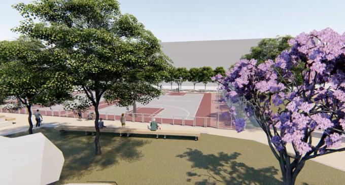 Avancen les obres del nou espai esportiu del Cabanyal